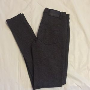 French Connection charcoal gray skinny pants sz 4